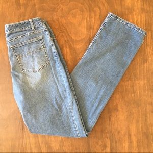J. Jill Boot Cut Stretch Denim Blue Jeans